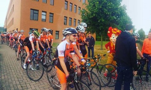 Sponsoring fietskamp in Waalwijk